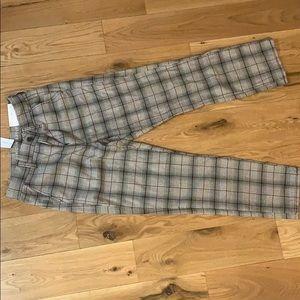 Plaid American Eagle pants